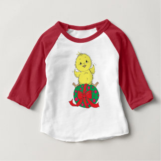 Chick on Easter Egg Baby T-Shirt