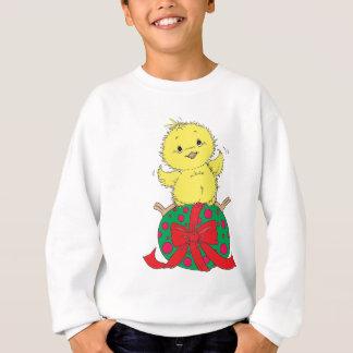Chick on Easter Egg Sweatshirt