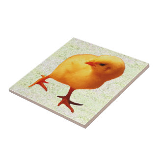 Chick on the Move (2) Tile