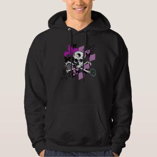Chick Skull - Dark Hoodie
