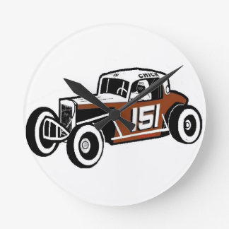 Chick Stockwell Old Time Race Car Racearena Clocks