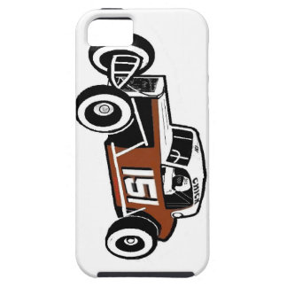 Chick Stockwell Old Time Race Car Racearena iPhone 5 Case