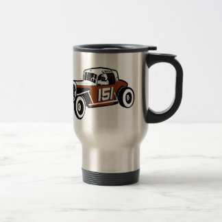 Chick Stockwell Old Time Race Car Racearena Travel Mug