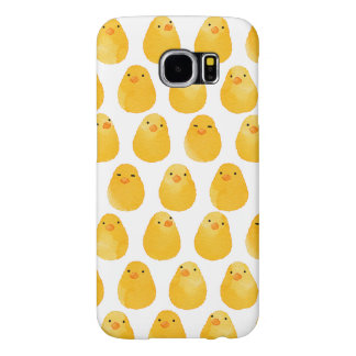 < Chick (water color) > Chicks of chicken Samsung Galaxy S6 Cases