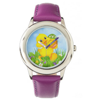 Chick with Easter Egg Watch