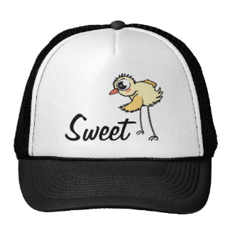 Chick With High Legs Trucker Hat