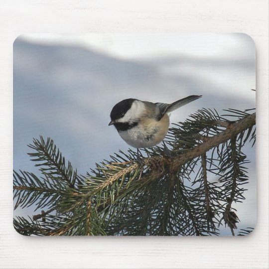 Chickadee 2 mouse pad