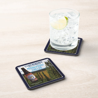 Chickadee Birch Beer Coaster