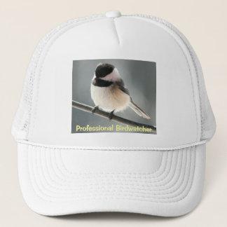 Chickadee Birdwatcher Trucker Hat