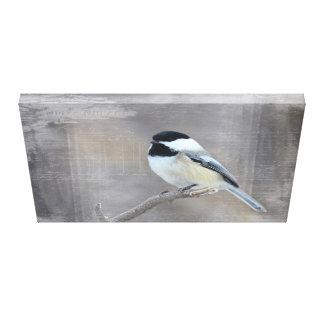 Chickadee Canvas