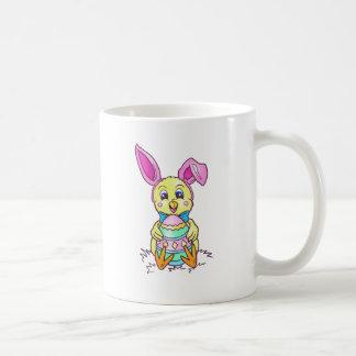 Chickadee Easter Bunny Coffee Mug
