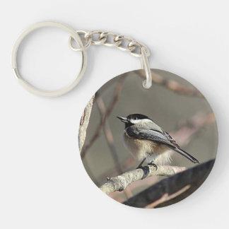 Chickadee Keychain