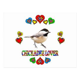 Chickadee Lover Postcard