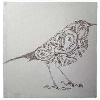 Chickadee Napkin