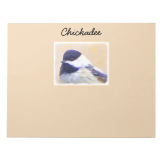Chickadee Notepad