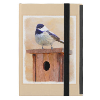 Chickadee on Birdhouse iPad Mini Case