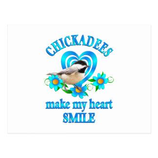 Chickadee Smile Postcard
