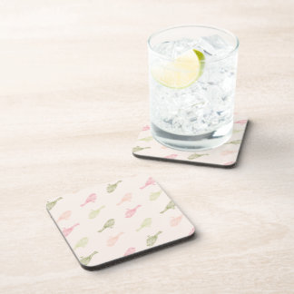 Chickadee Soft Pattern Coasters