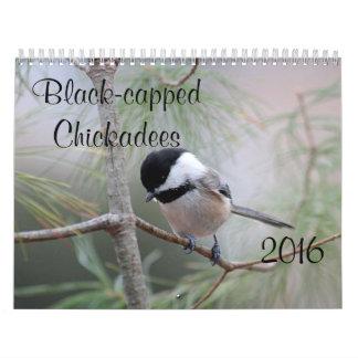 Chickadee Wall Calendar
