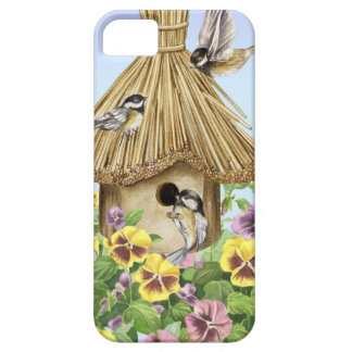 Chickadees Birdhouse Case For The iPhone 5
