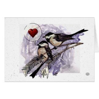 Chickadees Card