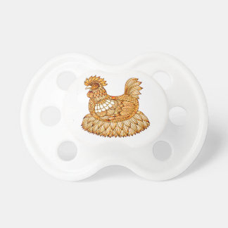 Chicken 2 pacifier
