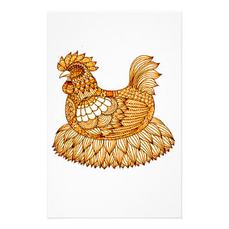Chicken 2 stationery