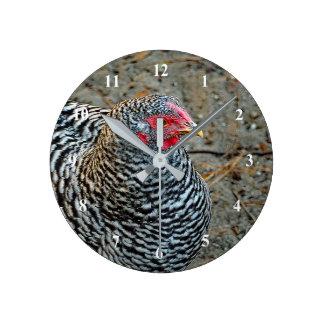 Chicken 332 Clock