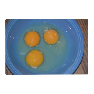 Chicken And The Egg Placemat Laminated Placemat