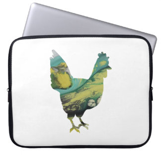 Chicken Art Laptop Computer Sleeve