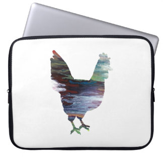 Chicken Art Laptop Sleeves