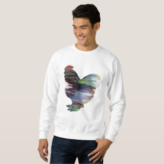 Chicken Art Sweatshirt