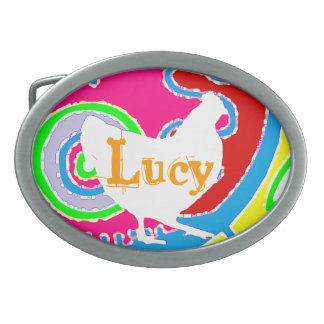 Chicken Buckle  Customize or leave blank Belt Buckle