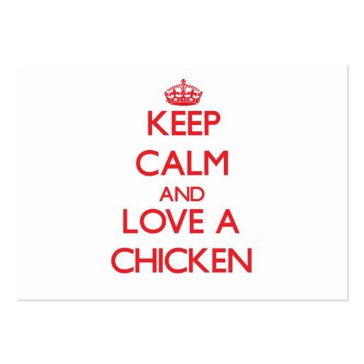 Chicken Business Card Templates
