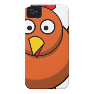 Chicken Cartoon Case-Mate iPhone 4 Case