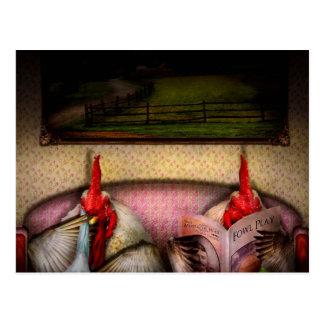 Chicken - Chick flick Postcard