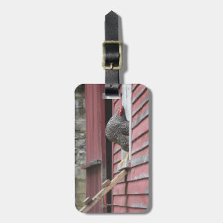 Chicken Coop Luggage Tag