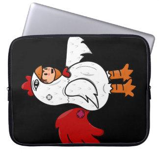 Chicken Costume Laptop Sleeve