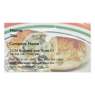 Chicken Dinner Stuffed Stuffing Pack Of Standard Business Cards