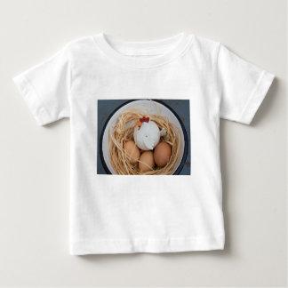 Chicken & eggs baby T-Shirt