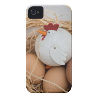 Chicken & eggs iPhone 4 cover