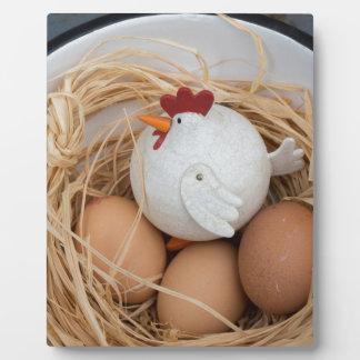 Chicken & eggs plaque