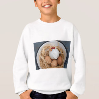 Chicken & eggs sweatshirt