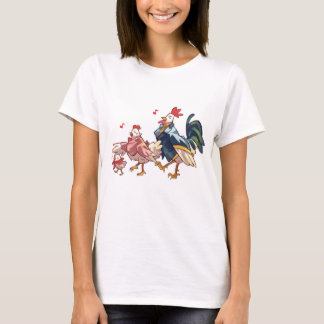 Chicken Family, Year of Rooster, T-shirt
