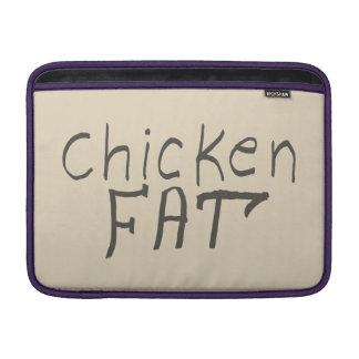 chicken fat MacBook sleeve