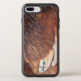 Chicken feathers OtterBox symmetry iPhone 7 plus case