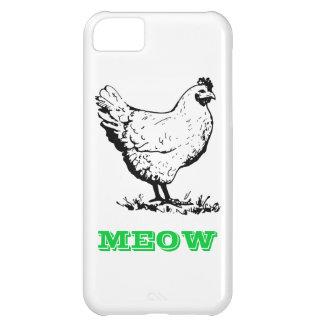 Chicken go Meow Samsung Galaxy S4 Case iPhone 5C Cases