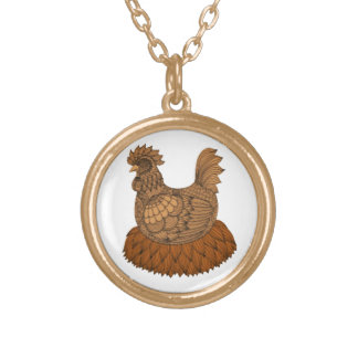 Chicken Gold Plated Necklace