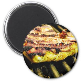 Chicken Grilling Magnet