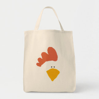 """Chicken"" grocery tote"